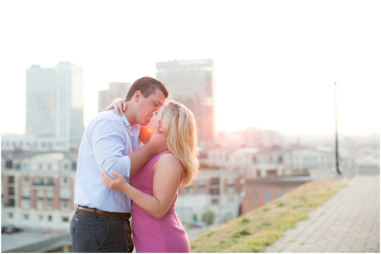 Fells Point Engagement Session, Baltimore MD