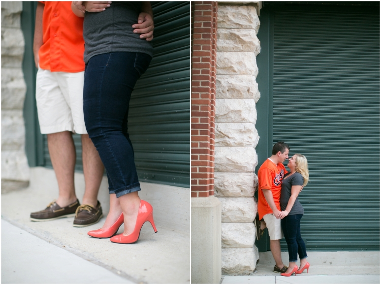 Camden Yards Orioles Stadium Engagement Session