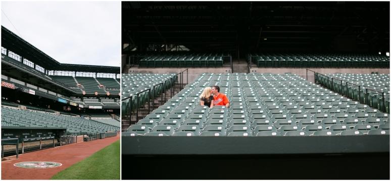 Camden Yards Orioles Stadium Engagement Session